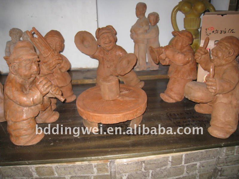 clay sculpture NS-01