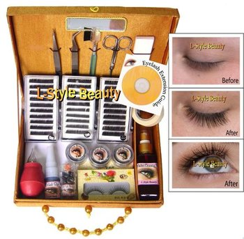 Silk Eyelash Extensions Kit + VCD Training