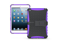 factory supply bumper premium soft TPU hard PC stand case for ipad mini 4