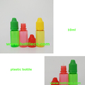 small 10ml plastic dropper bottle squeeze liquid container for essential oil and smoking oil beard
