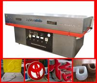 acrylic thermoforming machine for signs/marks making