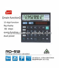 12-digits electronic calculate cheap mini desktop calculator