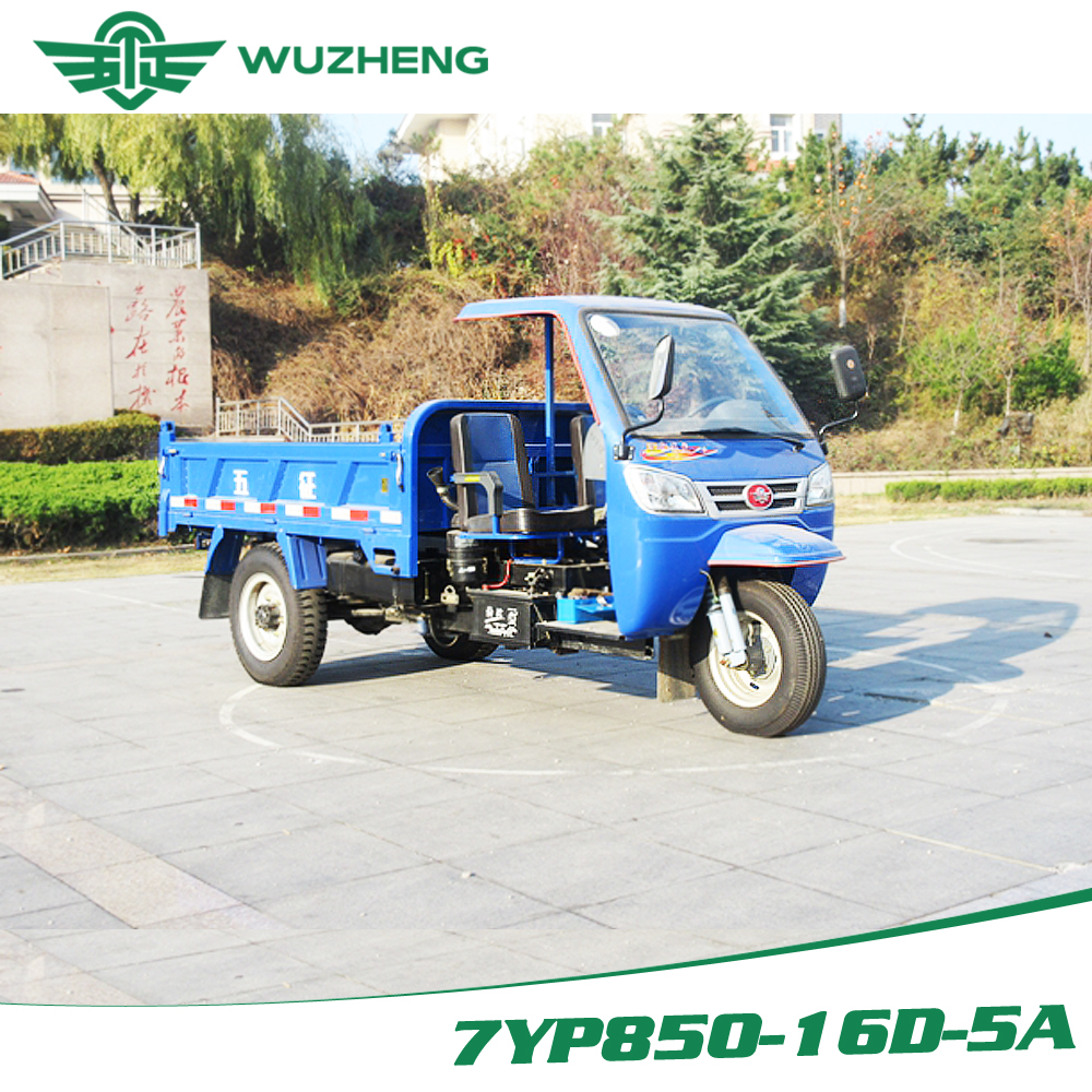 three-wheel vehicle with simple cab