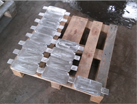 welded or sprial Zinc anodes for ships/Sacrificial Zinc Anode for Anticorrosion/zinc hull anode for ships