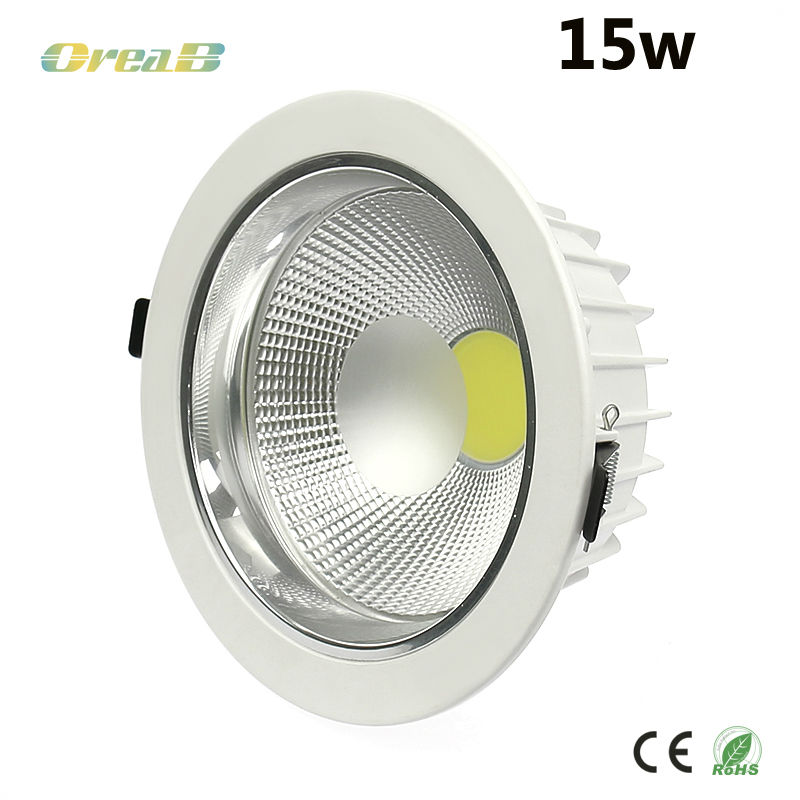 UL Eneregy star approved 5inch cob 15W dimmable led downlight for damp location
