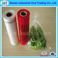 Food grade Flat Transparent Plastic Bags on Roll