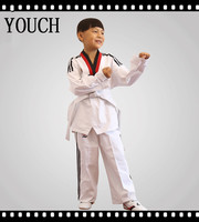 Long sleeve 100% cotton taekwondo uniforms/taekwondo training drills/taekwondo vs karate/taekwondo kicks techniques/judo vs TKW