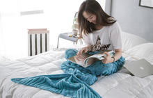 mermaid tail dresses china hot selling Wholesale adult children good quality blanket mermaid tail