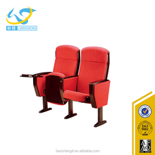 Cheap yellow function lecture theater hall chair for sale