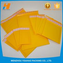 Multifunctional custom printed kraft padded envelope for wholesales