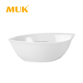 hotel classical 5 inch round design porcelain small soup bowl