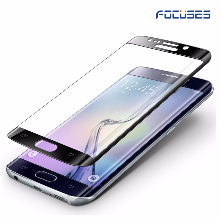 Shenzhen manufacturer Galaxy s6 edge 3D full covrage tempered glass screen protector for samsung s7 edge