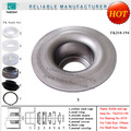 TK6310 pressed bearing cover made in china belt conveyor roller bearing sleeve