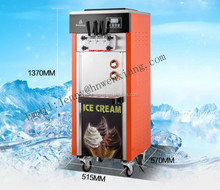 Hot Yogurt Soft Ice Cream Machine with Precooling and Air Pump Optional