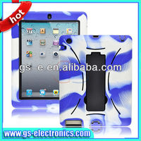 7.9 inch back covers for ipad mini;for ipad mini kickstand robot protector shell case