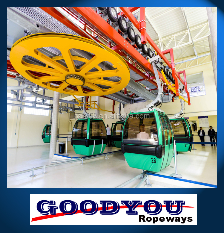 HIGH ALTITUDE skyline Detachable Gondola passenger cable car