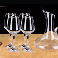 130ml High Quality Unbreakable glass Wine Glass Cup