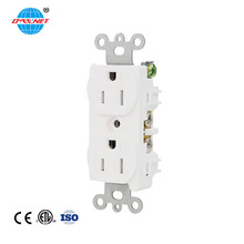 15amp 125volt Tamper Resistant Duplex Electrical Receptacle Outlet Types For Office And Building Use