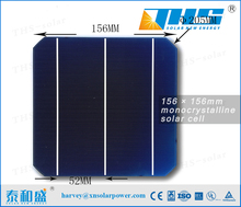 2017 hot sell Mono Crystalline Solar Cell Price 156*156mm 3BB 6inch