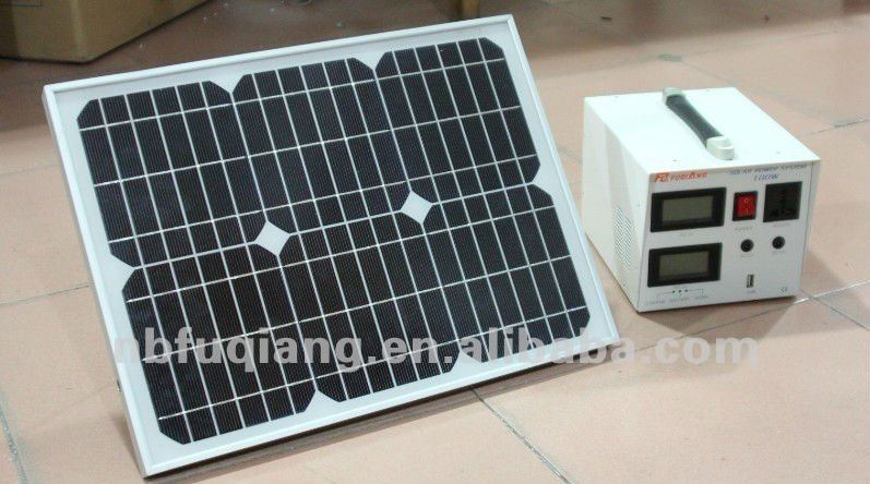 20W Portable ligting and mobile charging solar home system