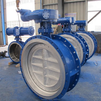 Construction Machinery Parts butterfly valve factory Water industrial DN1000