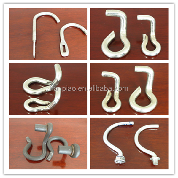 Construction building high quality hardware fastener vertical large hook