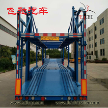 China Low Price 2 / 3 axles Car Carrier Transport Semi Truck Trailers For Sale