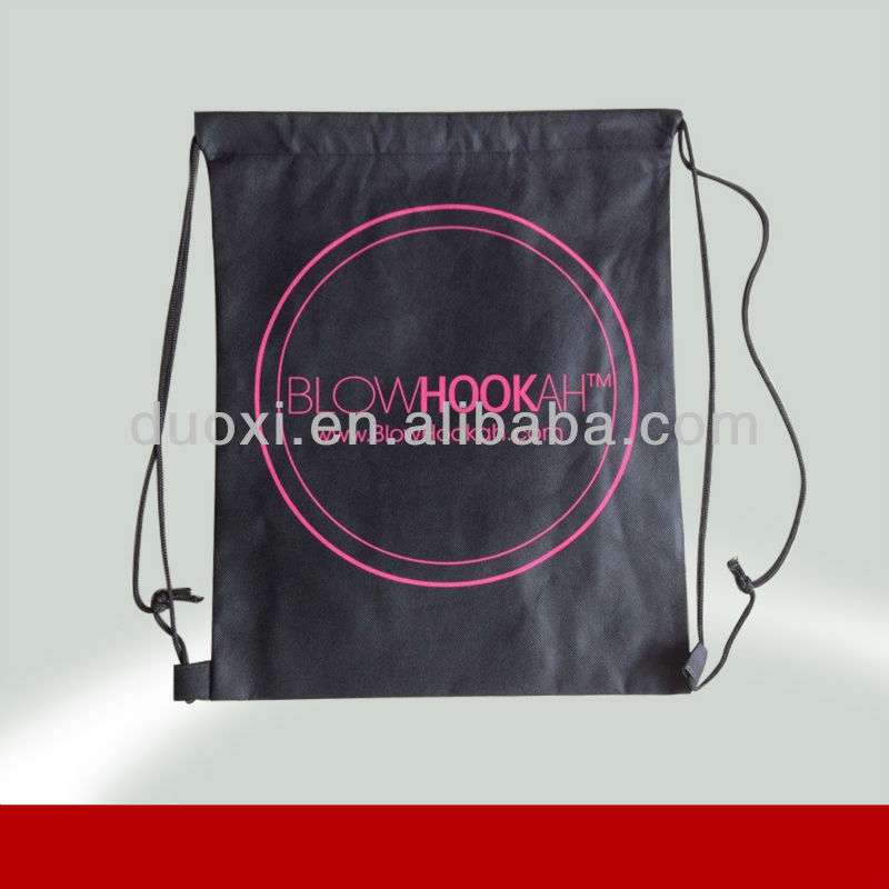 CD drawstring bag pp nonwoven foldable shopping bag 100% manufacturer