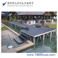 Cheap Portable mobile aluminum stage ,outdoor stage for sale