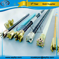 High Tensile R25 Coal Mine Underground Grout FRP Self Drilling And Solid Mining Roofing Support Anchor Bar
