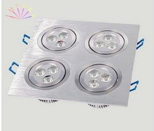 12W Led Rectangular Downlight/Square Downlight/ Ceiling Light