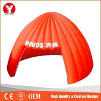 Cheap Orange Inflatable Party Tent, Inflatable Wedding Tent