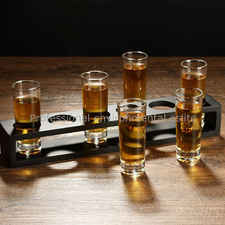 Direct Supplier Tube Shot Glass Thin Glass Cup For Wisky