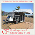 Off road soft floor camper trailer