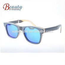 2018 Wooden and bamboo Sunglasses in stock with boxes logo free