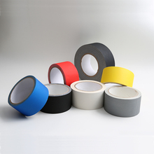 Good adhesion short roll easy to hand tear gaffer gaffers tape for tolerates UV rays