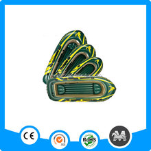 Eco-friendly China inflatable boat for sale single PVC army green inflatable boat