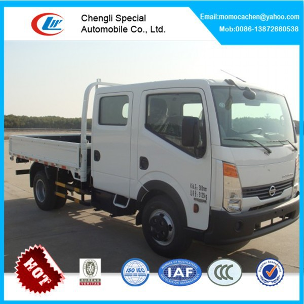 Nissan 4x2 cargo truck nissan double cabin pickup truck for sale