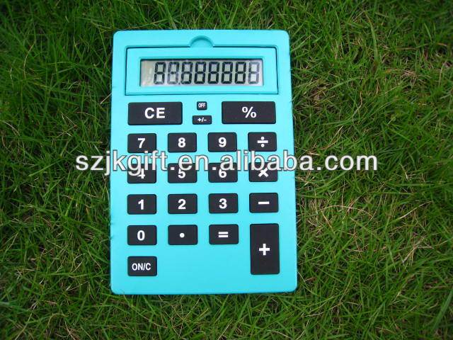 REAL MANUFACTURER 8 digit A4 big size display & big screen color button office production function calculator