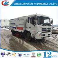 4x2 New condition Euro 3 Diesel Manual 12CBM 12tons road sweeper truck