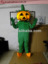 cartoon vegetable character pumpkin mascot costume for sale