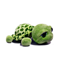 Custom Stuffed Sea Animal Turtle Plush Toys Big Eyes Plush Turtle Toys