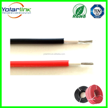 Free sample DC TUV certificated XLPO insulated solar pv wire 4mm2 pv cable