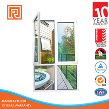 Alibaba Varified Supplier AS2047 Complied Aluminum Double Casement Window