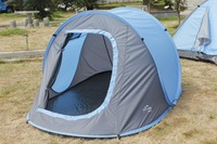Auto top tent steel summer tent two people pop up camping tent