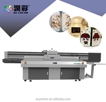 advertisement uv printer AC printing machine flatbed fast speed paint