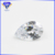 Lab Created 7x9mm White CZ Pear Cut 100 Facets Cubic Zirconia Gemstone
