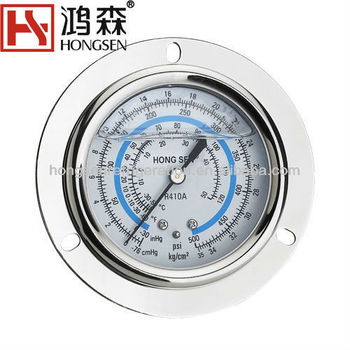 oil Filled Pressure meter low side