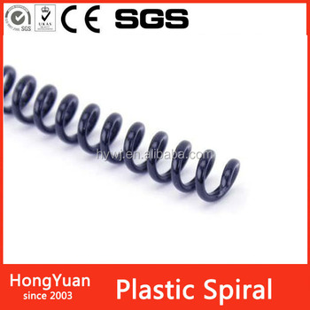 wide range of colors for your choice Plastic Spiral