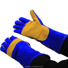 Chinese Supplier Split Leather Working Gloves